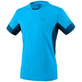 Dynafit Vert 2 Maglietta a maniche corte Uomo, turchese/blu